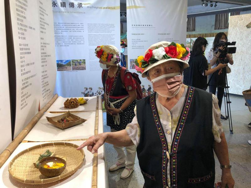 婦女會前會長林清美說比那冷(binaleng)普式酸辣湯,是將當季的刺竹以發酵的方式製成,是部落中最傳統的味道