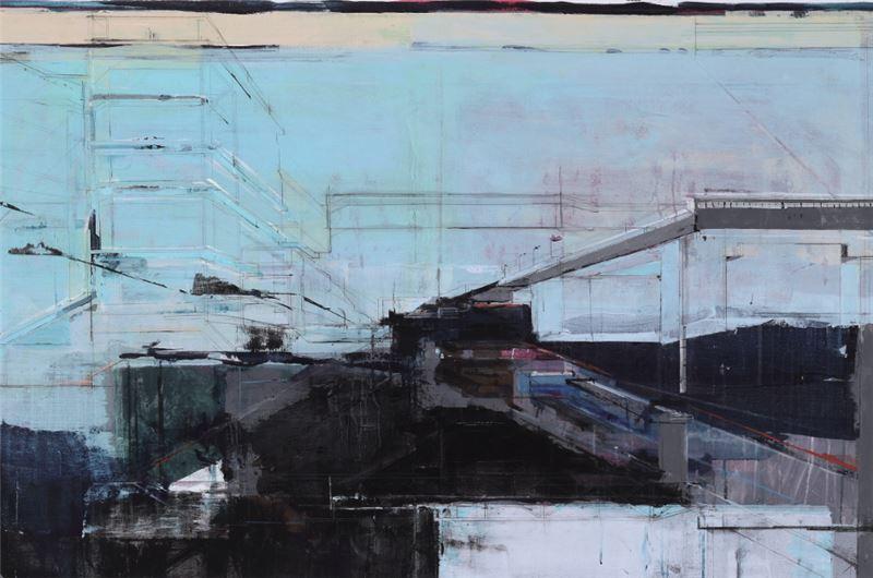 陳建榮〈Landscape 33〉 局部圖