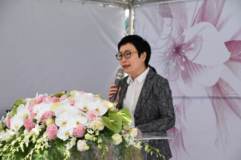 文化部丁次長曉菁在致詞中特別感謝政治受難者前輩的付出