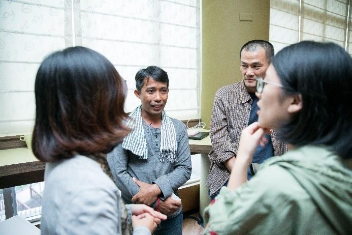 Audiovisual archivist Sopheap Chea (Cambodia)