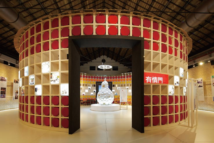 The Exhibition Design with Deep Oriental Humanistic Image