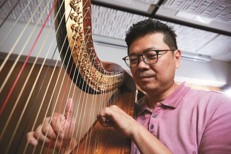 音樂總監李哲藝期許古典音樂真正走進臺灣人的生活。