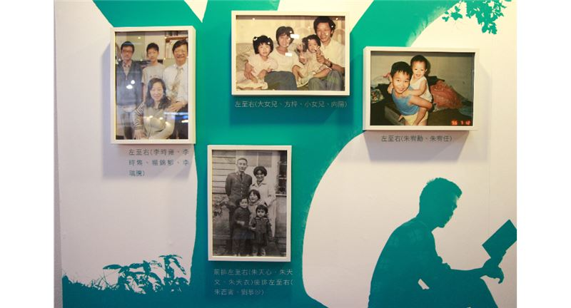 「臺灣出版主題館」展示臺灣文壇中創作家庭的各式樣貌