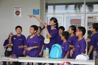 2014兒童工藝夏令營-小隊時間~輕鬆一下