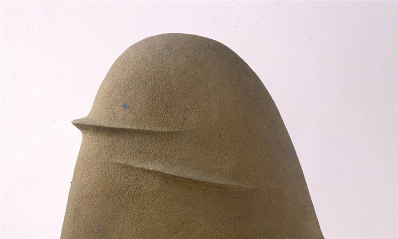Yang Yuan-tai〈Work 1994-6 Rhythm of Mountain Pottery clay〉Detail
