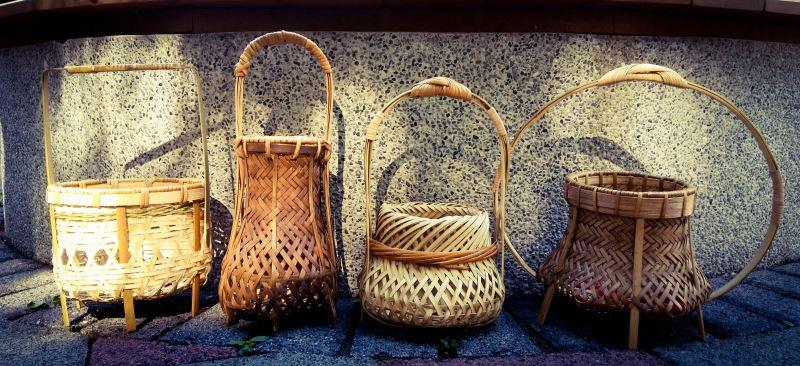 竹編作品能呈現出多種不同風格,發展至今已成為一項實用與美感兼具的技藝。
