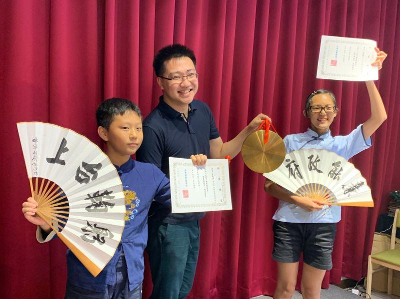 為了相聲的傳承,李沐陽也開班授課。