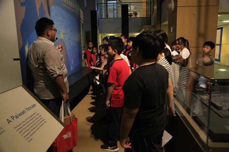 國立臺灣史前文化博物館康樂本館結合展示規劃系列環境教育課程