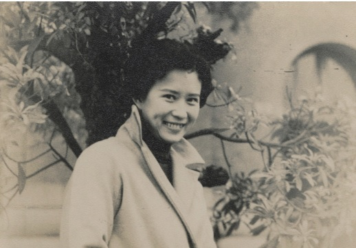 Circa 1955: In front of the College of Liberal Arts, National Taiwan University.