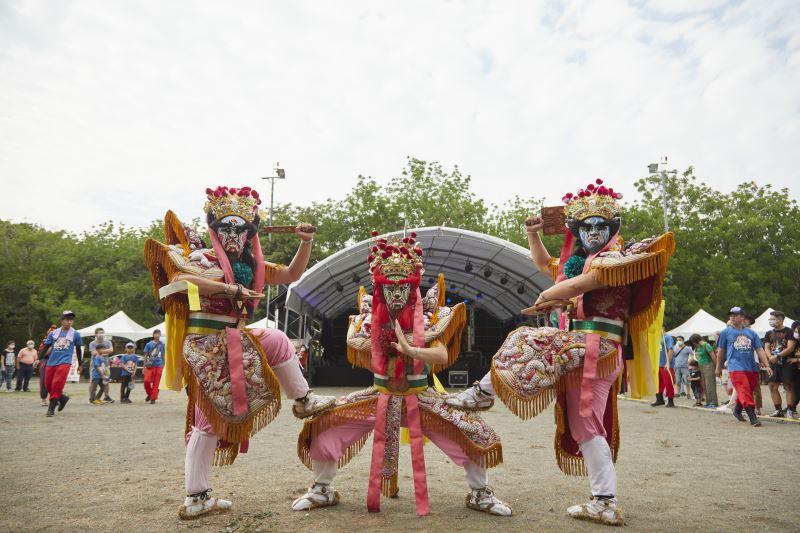 新化吳敬堂推廣官將文化不遺餘力。