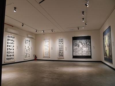 「2020中山青年藝術獎」書法及水墨類作品洪根深美術館展出 。