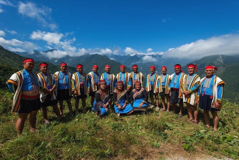 The Bunun Mountain Traditional Music Chorus.
