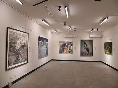「2020中山青年藝術獎」油畫類作品洪根深美術館展出。