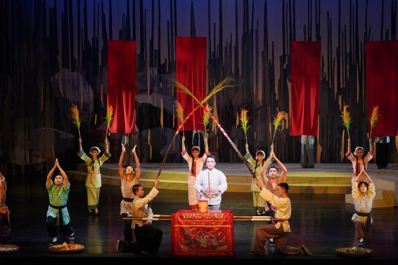榮興客家採茶劇團《一夜新娘一世妻》祭天穿日-蘇國慶飾邱信