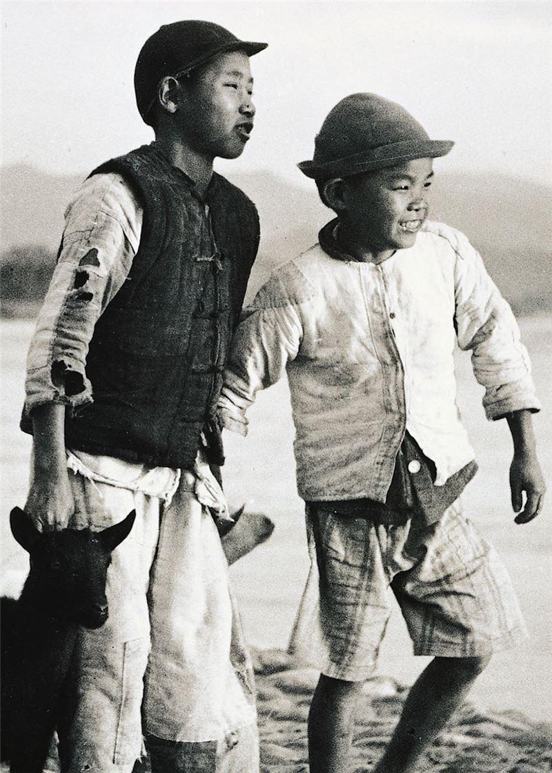 Li Ming-diao〈Shepherd Boys〉Detail