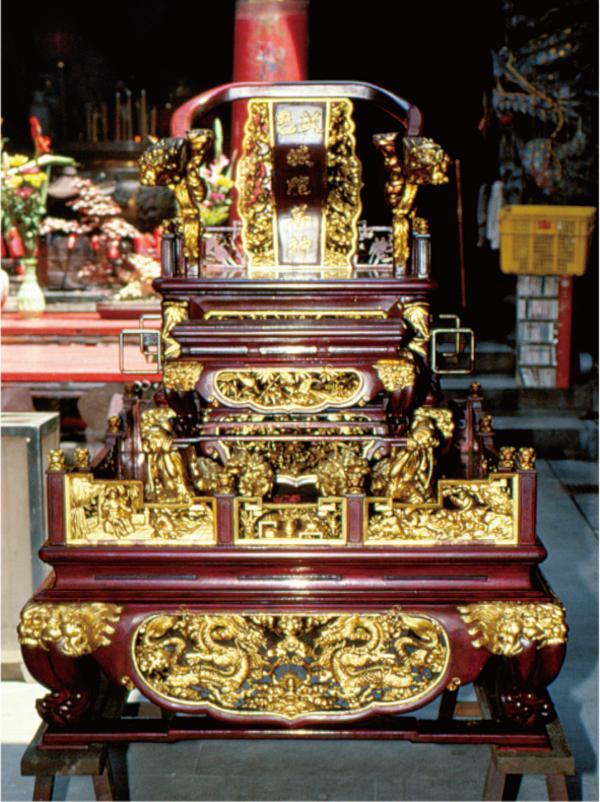 彰化城隍廟神興