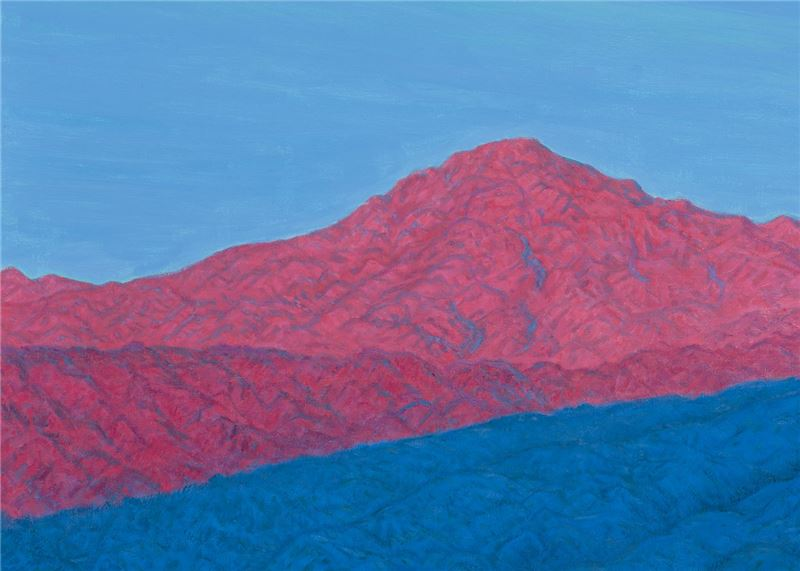 HWANG Chao-mo〈Purple Mountain in Chipen, Taiwan〉Detail
