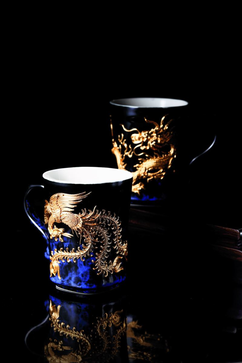 Yii-龍鳳對杯