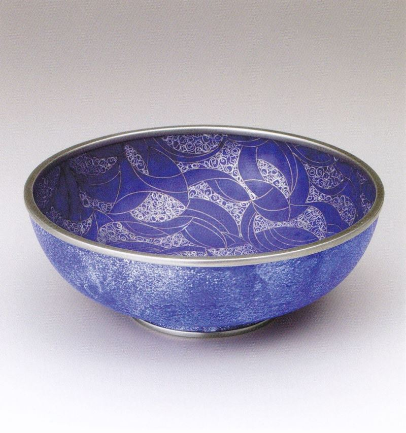 Yohko Yoshimura-Cloisonne bowl