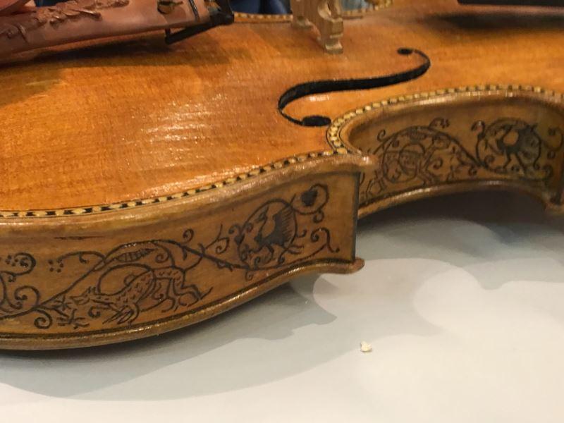 黃聖彥老師 手工製作小提琴