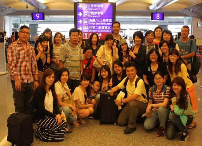 NCO團員啟程至香港執行2015和平禮讚音樂會。