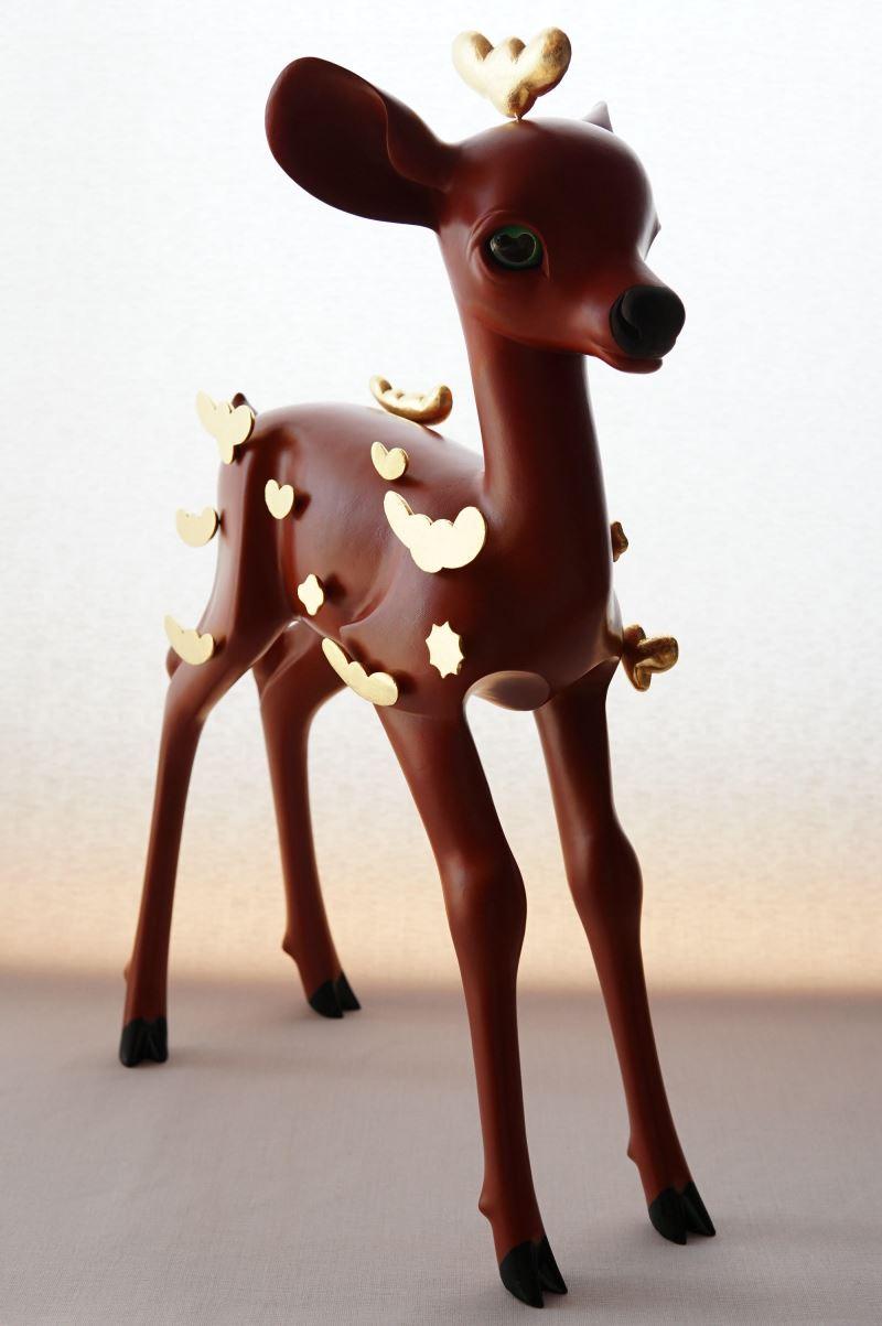 日本_伊能一三_和平騎物(鹿)