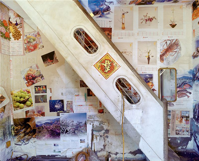 CHEN Po-I〈Remains(No. 92-1, Haishan 4st Rd., Hongmaogang, Kaohsiung City - Liao Wu Xiong's house)〉2006 Lightjet C–print 100×125 cm
