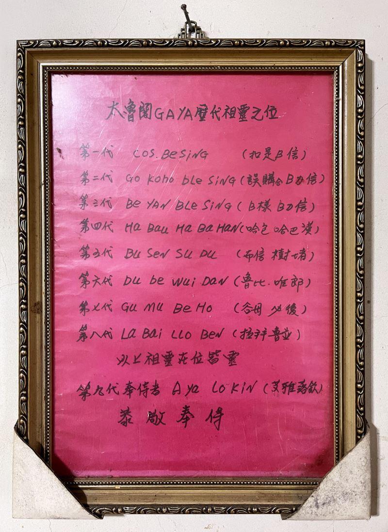 洛巫彼恩彌尤出身巫醫家族,在祖母簡金美(Rabay Lowbing)之上還有七代已故巫醫。