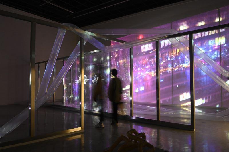 國美館2021藝術跨域策展案_「Æthereal_逸菲蕾遨」展場