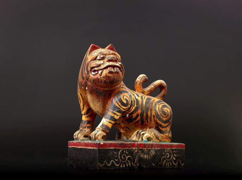 傳藝動物園_虎爺_既能祛除凶邪、保境安民,又能保護孩童長大的「虎爺」,是相當受歡迎的信仰神。