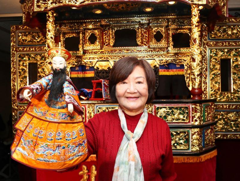 Troupe founder Chiang Shi-mei.