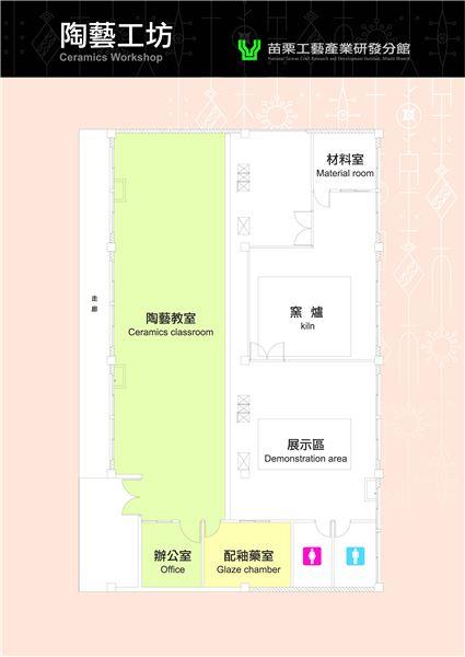 陶藝工坊平面圖