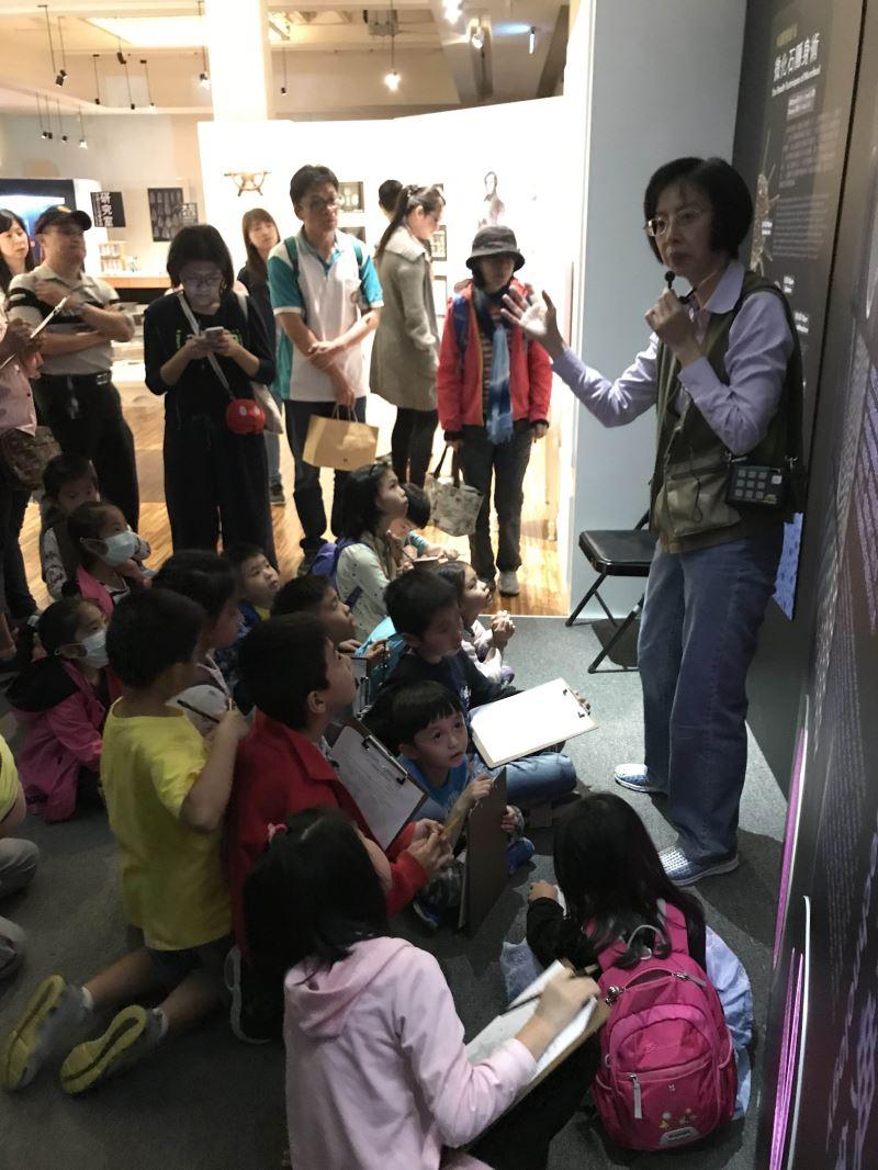 圖3臺博館邀請青少入館攝影紀錄當代博物館人事物