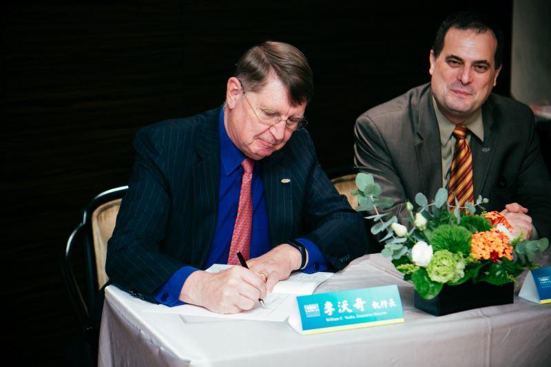 William Vocke, executive director of Fulbright Taiwan.