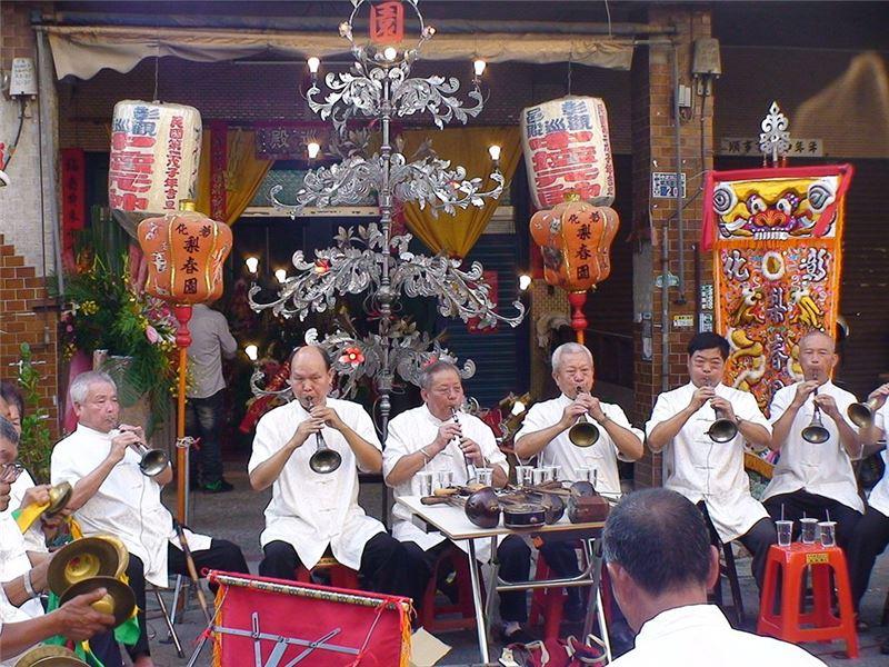 中壇元帥慶典演奏合照(2010)。