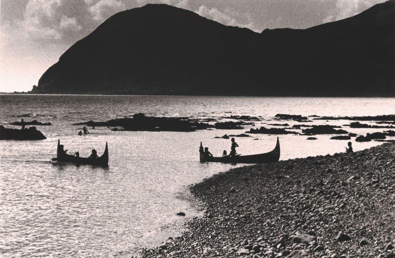 王信,《蘭嶼.再見》系列:16,1974,數位輸出,_40_×_61_cm,國立臺灣美術館典藏。