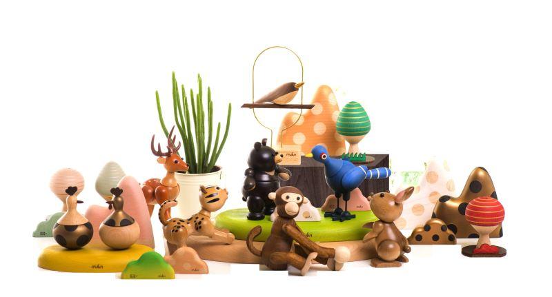 木趣設計-木質動物公仔系列