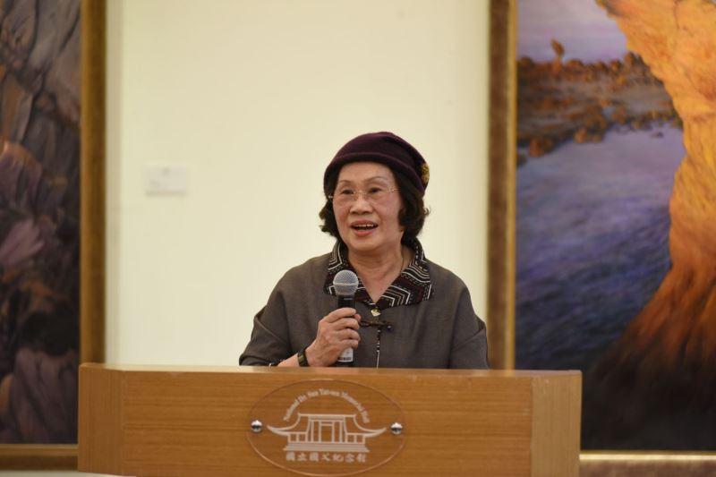 藝術家尤雪娥致詞