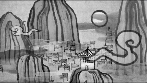 本片以絕佳的閩南語旁白為主軸,運用饒富趣味的俚語、行雲流水的口白,創造出一場緊湊懸疑、萬分生動的講古時間,形式獨特的黑白動畫更為本片創造出繽紛的想像空間。