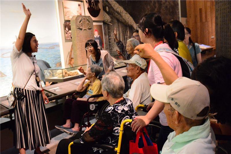 臺史博與南藝大合作推出高齡專案活動