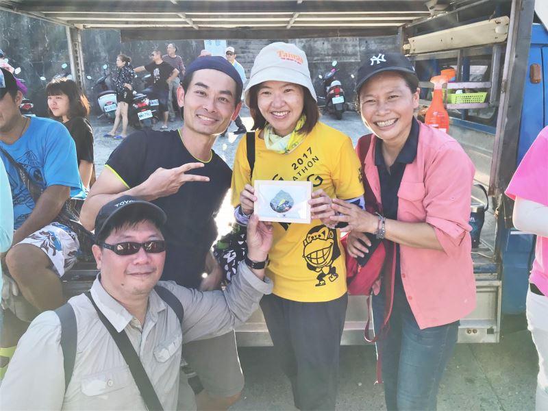 史前館環境教育計畫前往小琉球參訪交流與淨灘