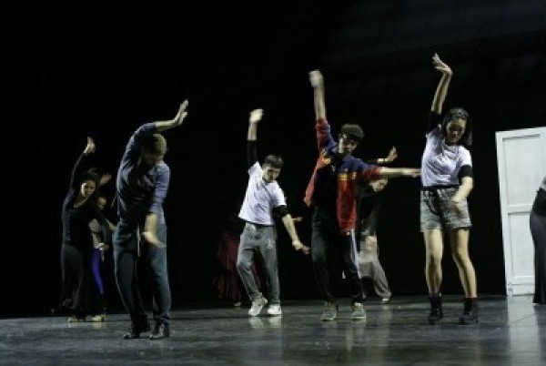 The Chang Dance Theater held a joint workshop with Spanish choreographer Carlos Chamorro on Dec. 7, 2014.