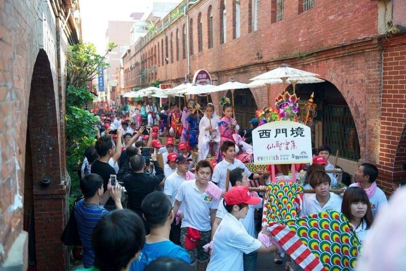 The reception for the City God in Kinmen / 金門迎城隍