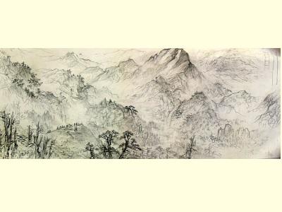 〈蓬萊風華〉草圖 。