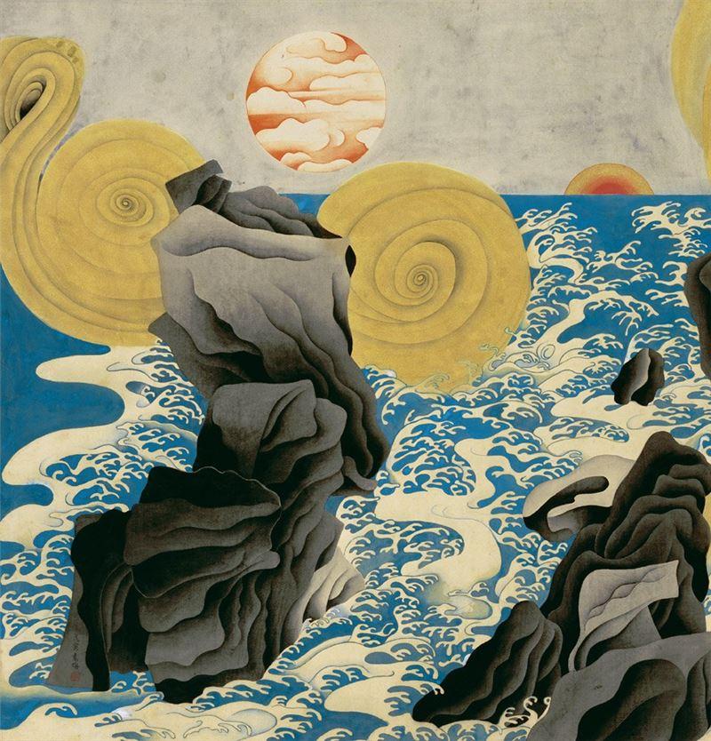 YUAN Zhan〈Genesis〉Detail