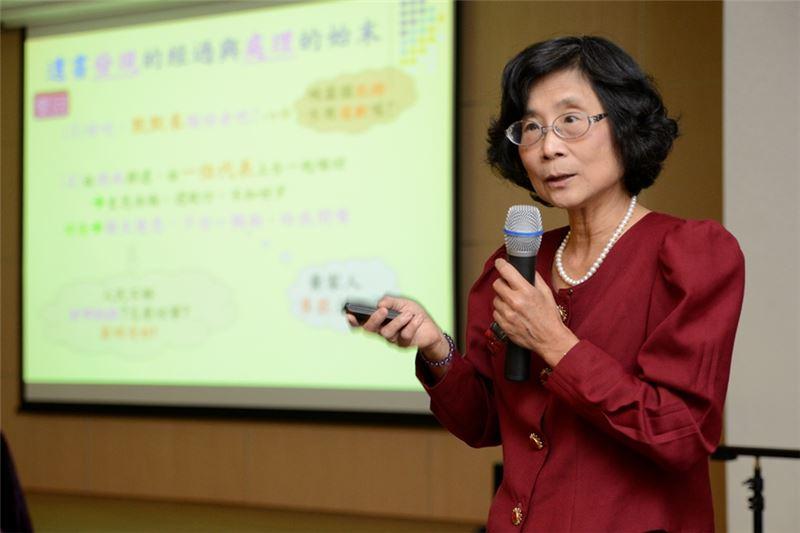 黃春蘭女士座談會分享生命故事