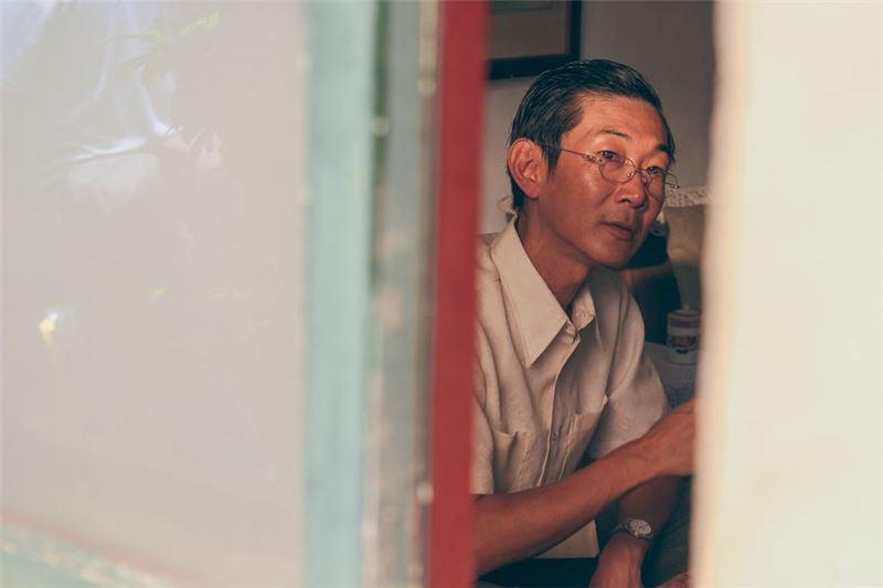 山東硬漢老魏與臺灣小姑娘阿月在眾人的祝賀下結婚了。
