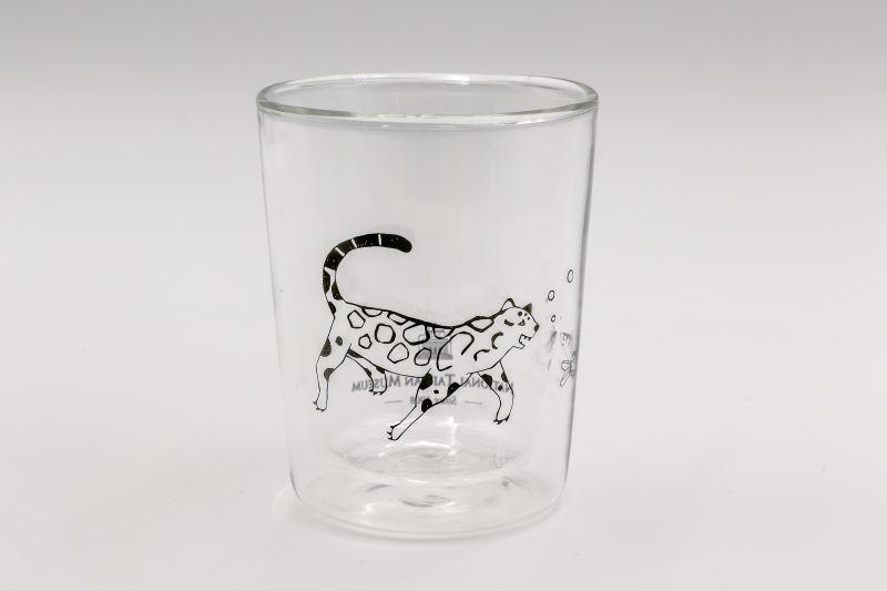 共遊-雙層玻璃杯(正面)