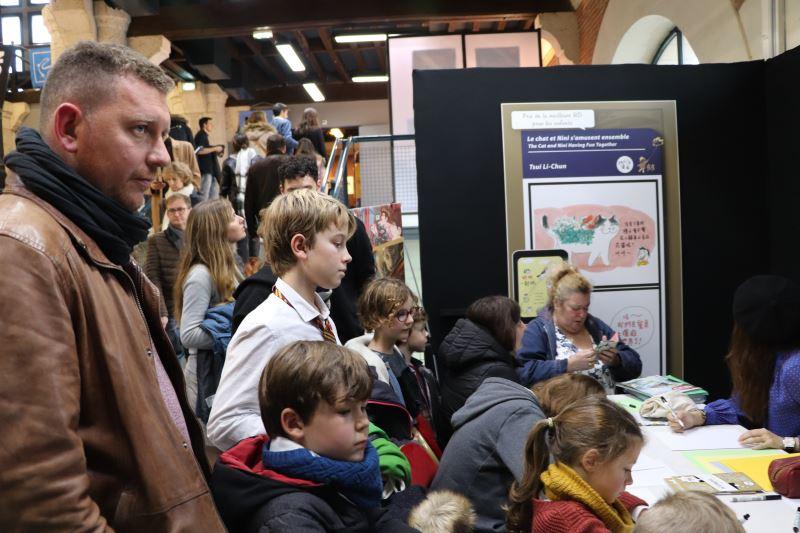 法國布洛瓦漫畫節BD BOUM工作坊人潮滿滿