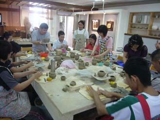 陶藝工藝基礎班-土坯接合成型手把製作練習